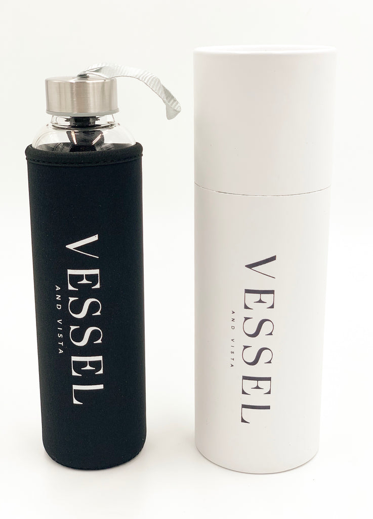 VESSEL AND VISTA Glass Bottle