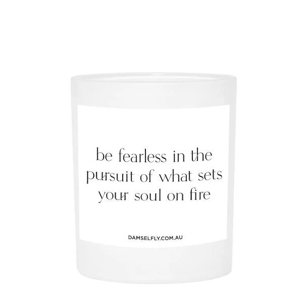 Fearless - Large Candle