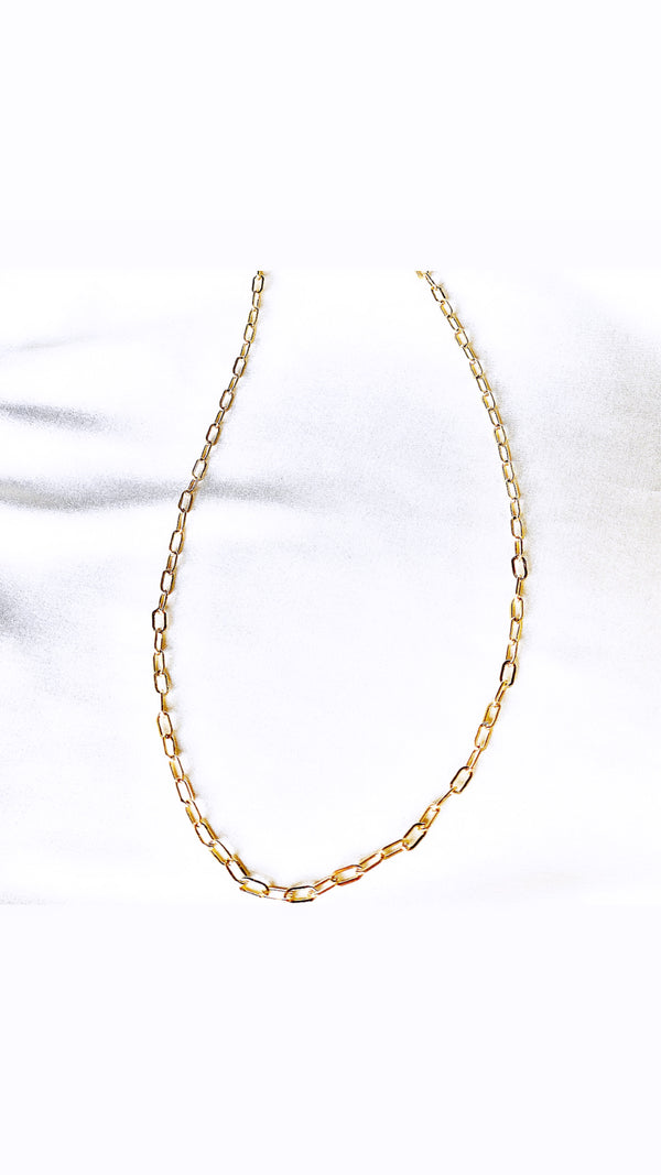 Emma mini link chain necklace