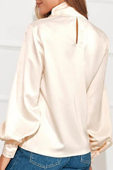 LIZ SATIN BLOUSE