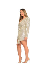 Game Changer Sequin Dress