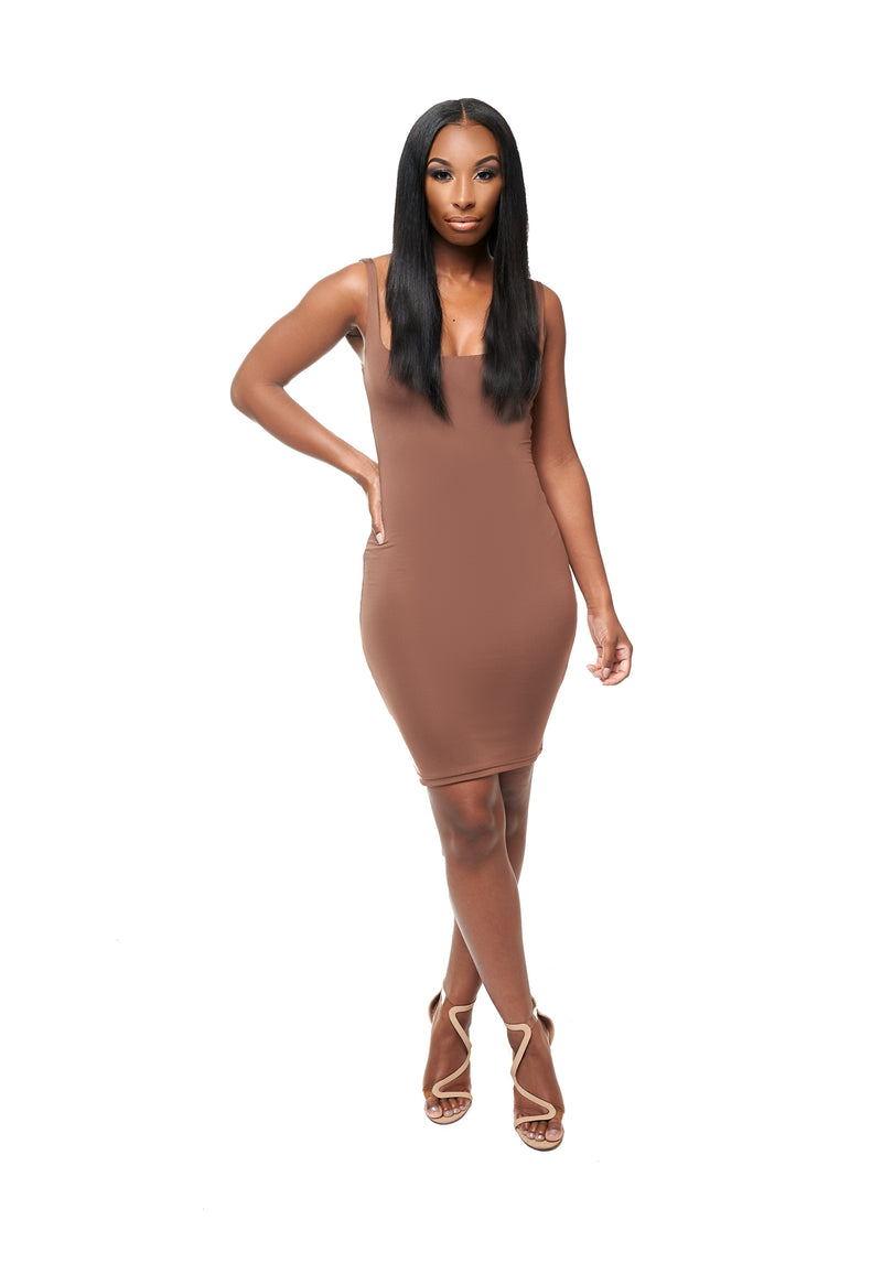 NOVA BANDAGE MINI DRESS