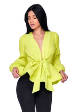ENVY ME TOP - YELLOW
