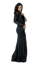 EXTRAVAGANT ONE SHOULDER GOWN