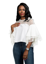 MADISON TOP - WHITE