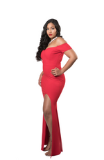 RUBY RED GOWN - RED