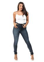 SLIM FIT HIGH RISE JEANS