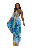 BLUE LAGOON MAXI DRESS