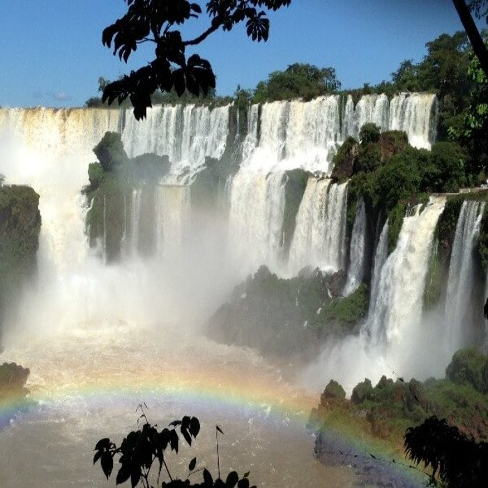 View of the falls from the Argentinian side