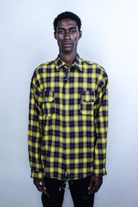 OPEN CANVAS FLANNEL YELLOW