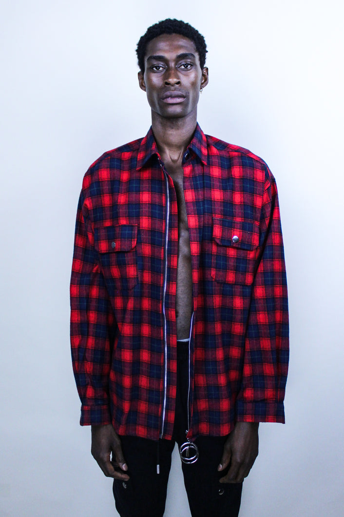 OPEN CANVAS RED FLANNEL