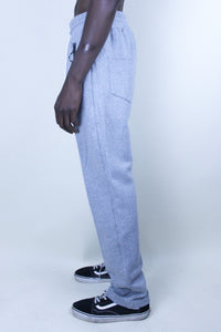 Logo Embroidered - Cotton Trouser / Grey