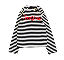 Load image into Gallery viewer, SOCIAL SUICIDE STRIPE L/S SHIRT