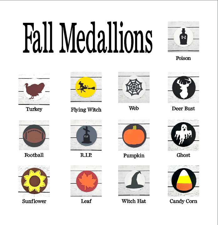 Fall Home Medallions