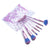 7pcs Crystal Diamond Makeup Brush kits