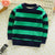 Kids Long Sleeve Stripe Warm T Shirt Blouses