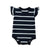 Short Sleeves bodysuits for baby Striped