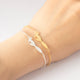 Hand Chain Jewelry Stainless Steel Bracelet For Women Gold