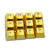 12 Keys Metallic Electroplated Keyboard Translucent