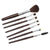 Silicone 7 Pcs EyeShadow Brush Cosmetics Blending