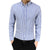 Casual Shirt Mens Fit Long Sleeve Button Striped