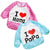 Cartoon children waterproof baby eating bib set