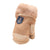 Cute Hairball Solid Gloves for Infant Baby Girls Boys