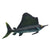 Sea Animal Bath Realistic Sailfish Action Figures Kids toys