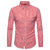 Men's Autumn Casual Shirts Long Sleeve Turn Down Collar