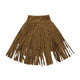 Girls Kids Party Wedding Casual Tassel Long Skirt