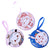 Mini Cute Cartoon Elements Round Bag
