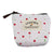 Women Fresh Floral Coin Zipper Mini Bag