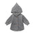 Winter Fleece Hooded Newborn Baby Coat