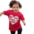 Outfits Clothes Baby Boys Letter Tops Heart Shirt