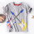 Fill Cotton Boys Clothing Baby Tops