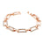 Women Fashion Alloy Rhinestone Simple Versatile Bracelet