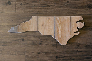 State Wall Art - Repurposed Wood