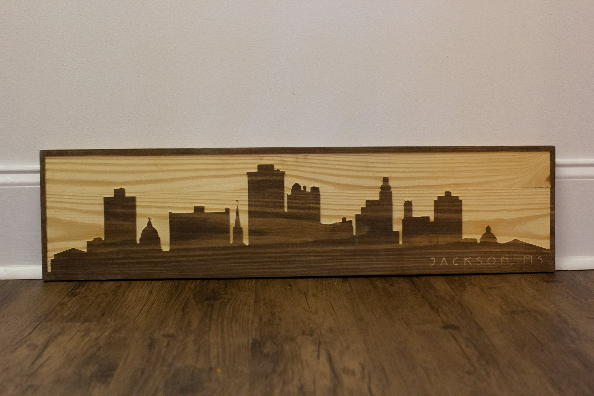 Jackson Skyline Wall Sign