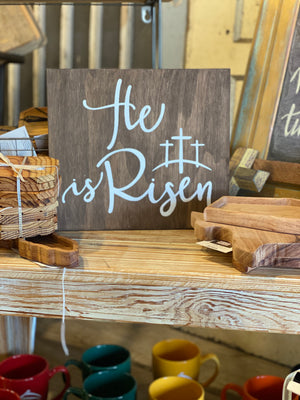 He Is Risen Easter Wall Art