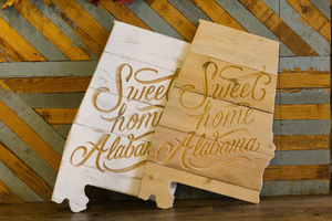 Sweet Home Alabama Wall Sign