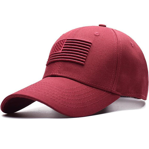 American Flag Sleek Cap