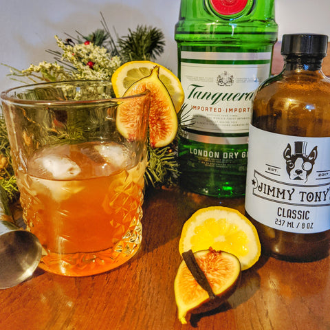 Fig Vanilla Gin Tonic