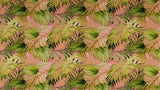Cotton Fabric In Palm Tree Branch Pattern - Northcott Cotton Christina's Fabrics Online Superstore