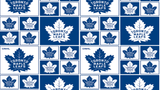Cotton NHL Fabric - The Toronto Maple Leafs - Christina's Fabrics Online Superstore