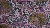 Cotton Batiks In Mulberry African Violets - Christina's Fabrics Online Superstore
