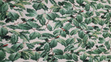 Cotton Fabric In Green Leaves - Christina's Fabrics Online Superstore