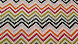 Cotton Fabric In Chevron - Christina's Fabrics Online Superstore