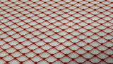 Cotton Fabric In White And Red Pattern - Christina's Fabrics Online Superstore