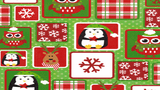 Flannel Fabric Christmas Season Winter Patches - Christina's Fabrics Online Superstore