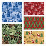 Fat Quarter Flannel Bundle Pine - Christina's Fabrics